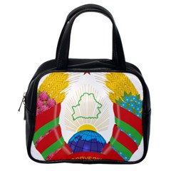 Coat of Arms of The Republic of Belarus Classic Handbags (One Side)