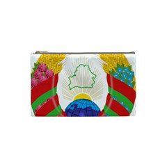Coat of Arms of The Republic of Belarus Cosmetic Bag (Small)
