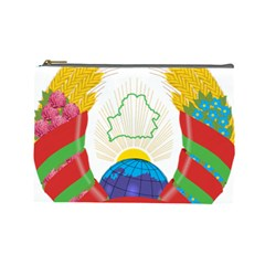Coat of Arms of The Republic of Belarus Cosmetic Bag (Large)