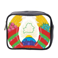 Coat of Arms of The Republic of Belarus Mini Toiletries Bag 2-Side