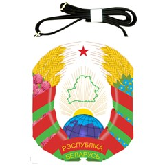Coat of Arms of The Republic of Belarus Shoulder Sling Bags