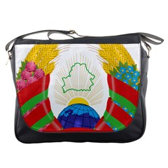 Coat of Arms of The Republic of Belarus Messenger Bags