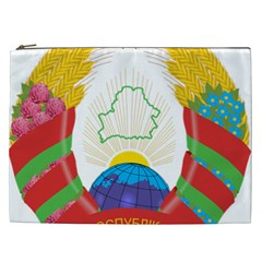 Coat of Arms of The Republic of Belarus Cosmetic Bag (XXL)