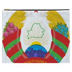 Coat of Arms of The Republic of Belarus Cosmetic Bag (XXXL)
