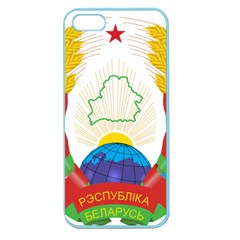 Coat of Arms of The Republic of Belarus Apple Seamless iPhone 5 Case (Color)