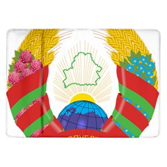Coat of Arms of The Republic of Belarus Samsung Galaxy Tab 10.1  P7500 Flip Case
