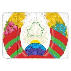 Coat of Arms of The Republic of Belarus Samsung Galaxy Tab 8.9  P7300 Flip Case