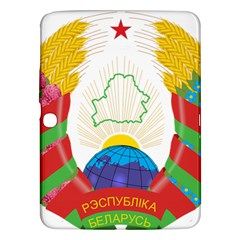 Coat of Arms of The Republic of Belarus Samsung Galaxy Tab 3 (10.1 ) P5200 Hardshell Case