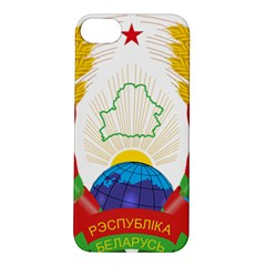 Coat of Arms of The Republic of Belarus Apple iPhone 5S/ SE Hardshell Case