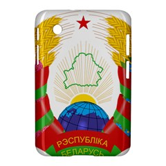 Coat of Arms of The Republic of Belarus Samsung Galaxy Tab 2 (7 ) P3100 Hardshell Case