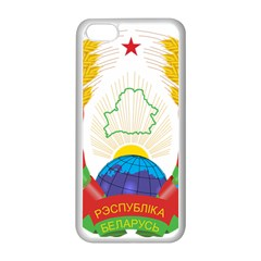 Coat of Arms of The Republic of Belarus Apple iPhone 5C Seamless Case (White)