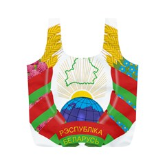 Coat of Arms of The Republic of Belarus Full Print Recycle Bags (M)