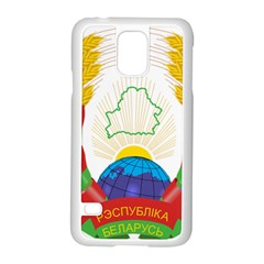 Coat of Arms of The Republic of Belarus Samsung Galaxy S5 Case (White)