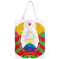 Coat of Arms of The Republic of Belarus Classic Light Tote Bag