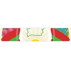 Coat of Arms of The Republic of Belarus Flano Scarf (Large)