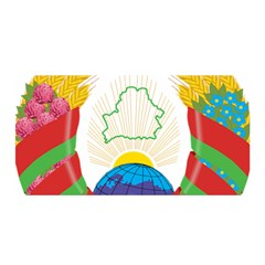 Coat of Arms of The Republic of Belarus Satin Wrap