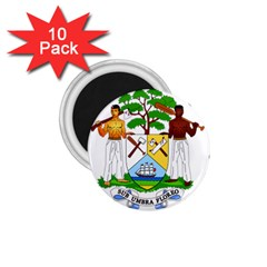 Coat of Arms of Belize 1.75  Magnets (10 pack)