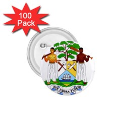 Coat of Arms of Belize 1.75  Buttons (100 pack)