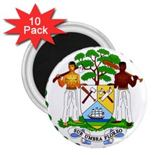 Coat of Arms of Belize 2.25  Magnets (10 pack)