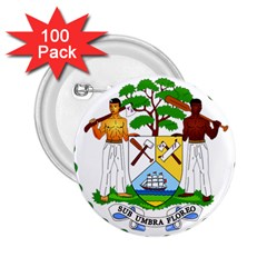 Coat of Arms of Belize 2.25  Buttons (100 pack)