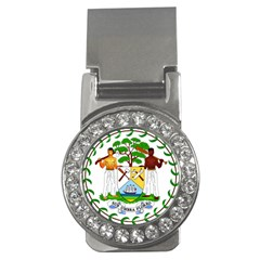 Coat of Arms of Belize Money Clips (CZ)