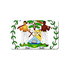 Coat of Arms of Belize Magnet (Name Card)