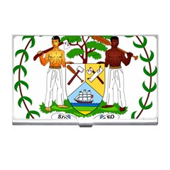 Coat of Arms of Belize Business Card Holders