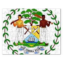 Coat of Arms of Belize Rectangular Jigsaw Puzzl