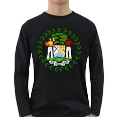 Coat of Arms of Belize Long Sleeve Dark T-Shirts