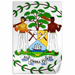 Coat of Arms of Belize Canvas 20  x 30