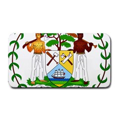 Coat of Arms of Belize Medium Bar Mats