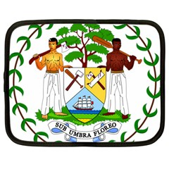 Coat of Arms of Belize Netbook Case (Large)