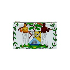 Coat of Arms of Belize Cosmetic Bag (Small)