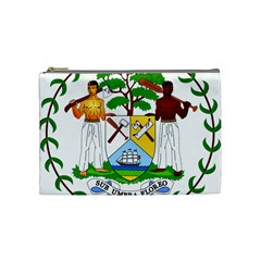 Coat of Arms of Belize Cosmetic Bag (Medium)
