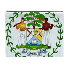 Coat of Arms of Belize Cosmetic Bag (XL)