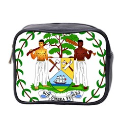 Coat of Arms of Belize Mini Toiletries Bag 2-Side