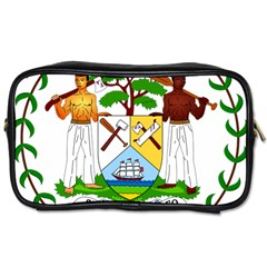 Coat of Arms of Belize Toiletries Bags