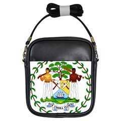 Coat of Arms of Belize Girls Sling Bags