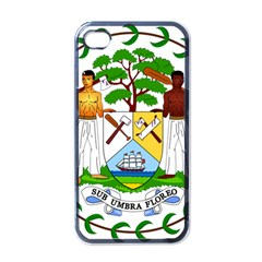 Coat of Arms of Belize Apple iPhone 4 Case (Black)