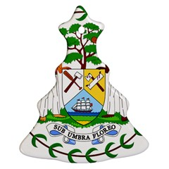 Coat of Arms of Belize Ornament (Christmas Tree)