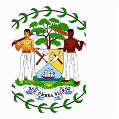 Coat of Arms of Belize Small Garden Flag (Two Sides)