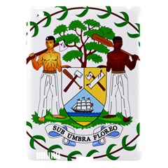 Coat of Arms of Belize Apple iPad 3/4 Hardshell Case (Compatible with Smart Cover)