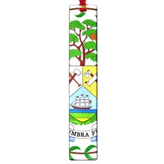 Coat of Arms of Belize Large Book Marks