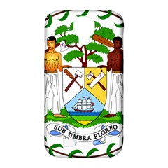 Coat of Arms of Belize Samsung Galaxy S4 Classic Hardshell Case (PC+Silicone)