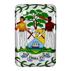 Coat of Arms of Belize Samsung Galaxy Tab 2 (7 ) P3100 Hardshell Case