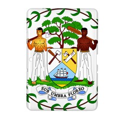 Coat of Arms of Belize Samsung Galaxy Tab 2 (10.1 ) P5100 Hardshell Case