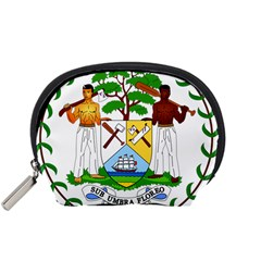 Coat of Arms of Belize Accessory Pouches (Small)