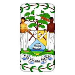 Coat of Arms of Belize Samsung Galaxy S5 Back Case (White)