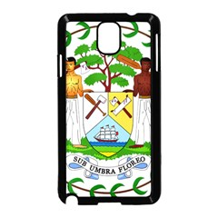 Coat of Arms of Belize Samsung Galaxy Note 3 Neo Hardshell Case (Black)