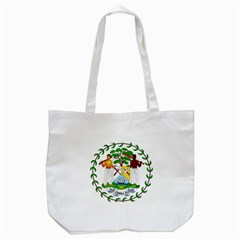 Coat of Arms of Belize Tote Bag (White)